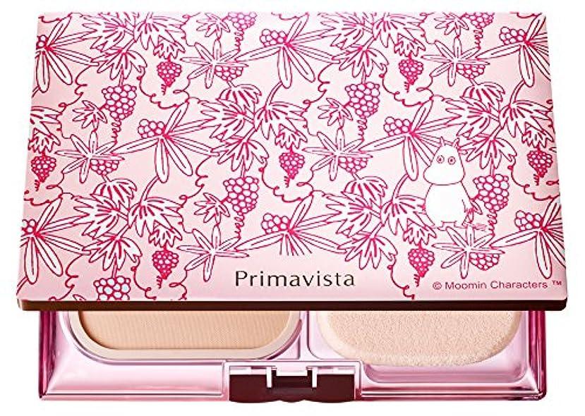 議論する宝石セマフォソフィーナ プリマヴィスタ きれいな素肌質感パウダーファンデーション(オークル05)+限定ムーミンデザインコンパクト 企画品