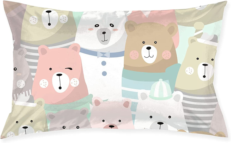 Cheap mail order specialty store Lovely Bear Trust Pillows Pillowcase Bed Sleeping Pillow