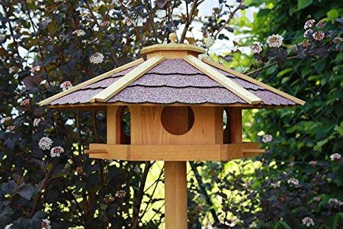 Vogelhaus PIEPMATZ + Ständer Futterhaus Vogel Haus Vogelfutterhaus Vogelhäuschen - 3