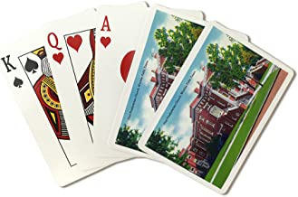 Wichita Falls, Texas - Exterior View of the First Presbyterian Church (Playing Card Deck - 52 Card Poker Size with Jokers)