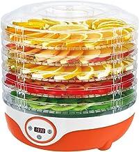 Déshydrateur d'aliments 5 Plateaux 35~70 ℃ Réglage de la température, Max 19h, Machine de déshydrateur de dessiccateur de ...
