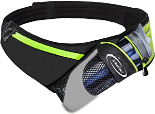 AiRunTech Upgraded No Bounce Hydration Belt Can be Cut to Size Design Strap for Any Hips..