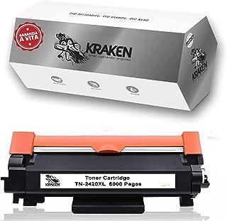 KRAKEN, Toner Brother Mfc l2710dw Tn2420XL Alta Capacità da 6000 Pagine Compatibile con Stampanti Brother Mfcl2710dw Mfcl2...