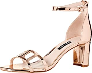 NINE WEST Women's Playasir Synthetic Heeled Sandal