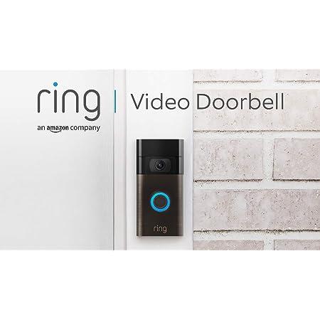 Ring Video Doorbell | Vídeo HD 1080p, detección de movimiento avanzada e instalación fácil (2. Gen)