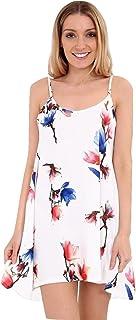 Momo&Ayat Fashions Ladies Summer Printed Cami Soft Jersey Swing Dress AUS Size 8-26