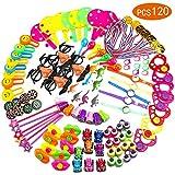 Ucradle 120 PCS Mitgebsel kinder Spielzeug Set, preise kindergeburtstag Party Favors Spielzeug Mitgebsel Kinderparty, Schule Klasse Belohnung Karnevals, Geburtstagsfeier Geschenk für Junge und Mädchen