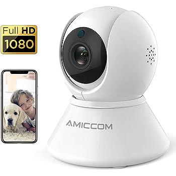 Wireless IP Camera Security 1080P HD WIFI Pan Tilt 2 Way Audio Night Vision CAM