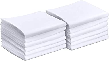 Utopia Bedding Queen Pillowcases - 12 Pack - Bulk Pillowcase Set - Envelope Closure - Soft Brushed Microfiber Fabric - Shrink