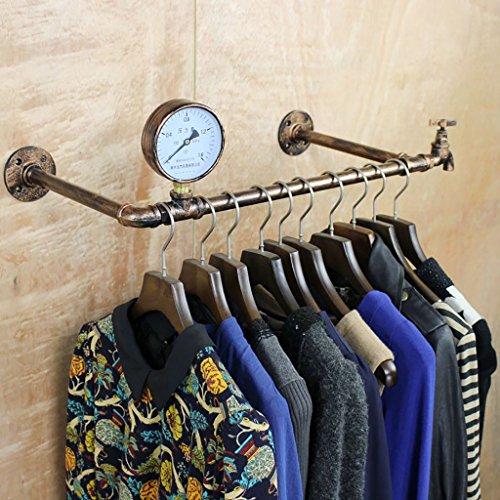 Wandregal Regal Boutique de vêtements Accessoires de décoration Écran de fenêtre Pendentifs Rétroviseurs présentoir (Couleur : B 81cm)