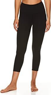 Gaiam Women's Capri Yoga Pants - Performance Spandex Compression Legging