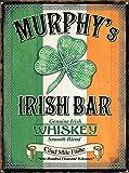 Murphy'S Irish Bar Vintage Nostálgico Placa de metal para decoración de pared, arte clásico, regalos creativos, perfectos para colgar 20 x 30 cm