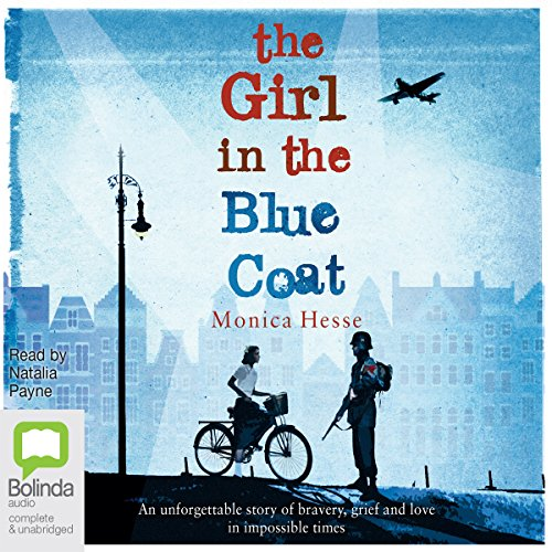 The Girl in the Blue Coat audiobook cover art