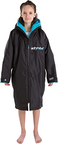 Dryrobe Advance LONG SLEEVE Change Robe - Stay Warm and Dry - Windproof Waterproof Oversized Poncho Coat - Swimming/S...