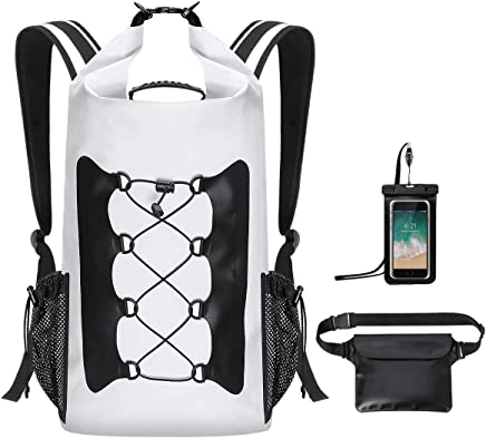 Modokit Durable Waterproof Backpack Set of 3 with Waterproof Waist Pouch +  Phone Case da3e654709476