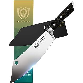 Dalstrong - Coltello da chef 20,3 cm - The Crixus - Serie Gladiator - Coltello da chef ibrido - Coltello da carne con guaina