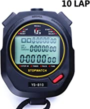 stopwatch with lap memory