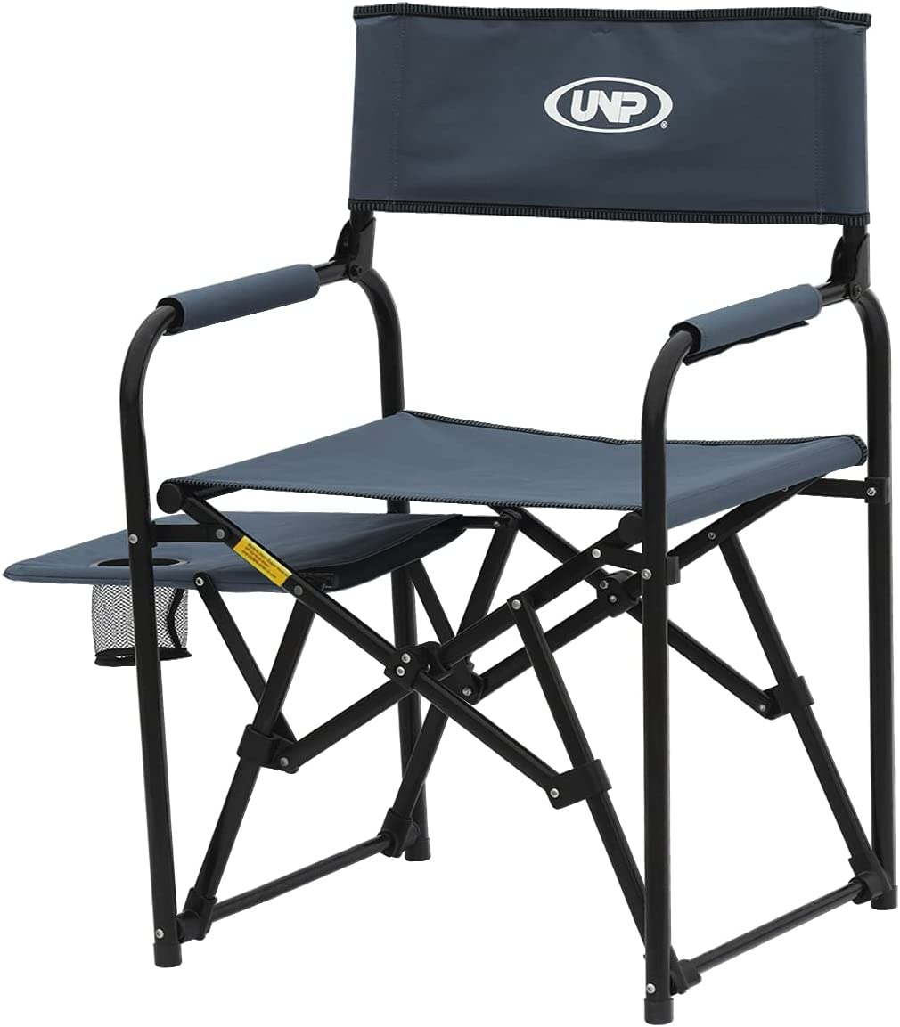 Camping Chair Director with Side Duty Portable Table Store Heavy At the price of surprise