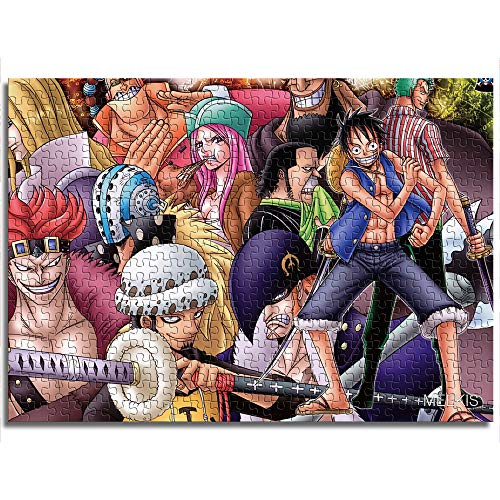 yuhho 1000 One Piece Anime Queen Luffy Family Game Team Kids Puzzle 26x38