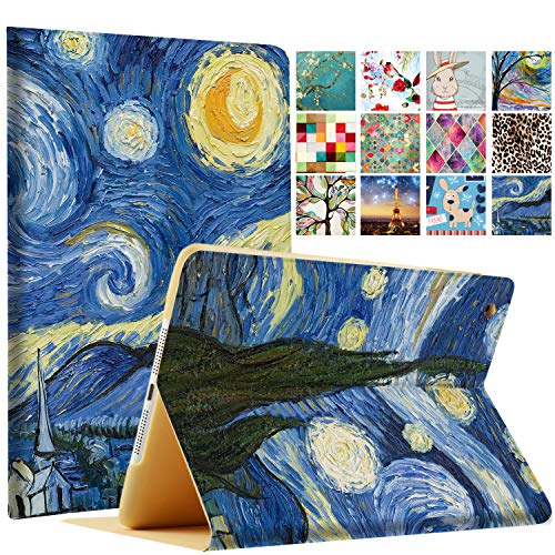 DuraSafe Case for iPad PRO 9.7 Inch 2016 [ A1673 A1674 A1675 ] Printed Smart Cover Slim Folio - Starry Night