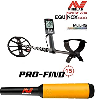 MINELAB - Detector de Metales Equinox 600 + PROFIND 15