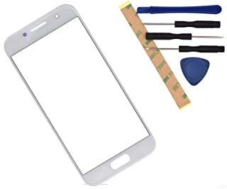 A320FL Outer Glass Screen Compatible with Samsung Galaxy A3 2017 A320F A320Y (White)