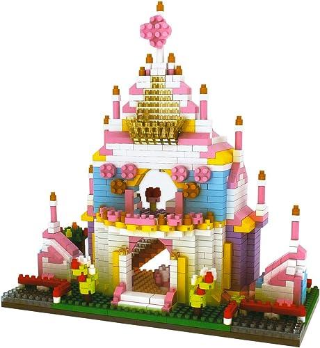 popular PP-NEST 988 Pieces Mini new arrival Building Blocks Puzzle Building Toy sale Bricks KLJM-02 (Princess Castle) online sale