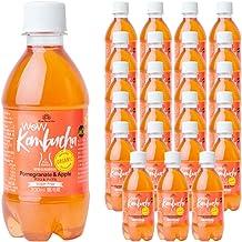 Wow Kombucha ワオコンブチャ ザクロ&アップル 植物性発酵飲料 (300ml/24本入)