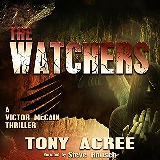 The Watchers audiobook cover art