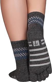 calcetines invernales antideslizantes en lana merino y cachemira, sin ne suturas ni elástico
