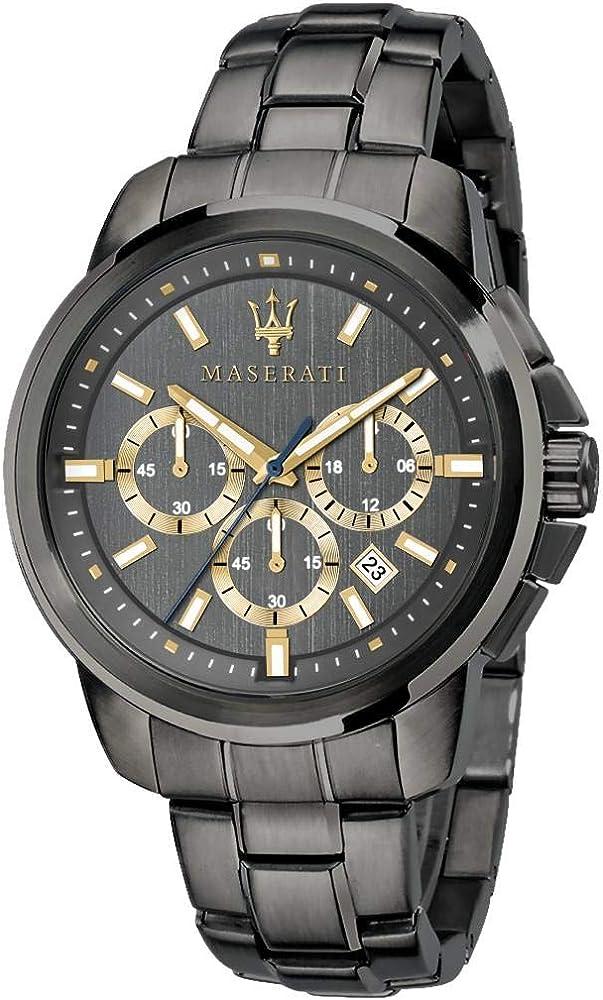 Orologio cronografo da uomo, collezione successo in acciaio inossidabile 8033288837480