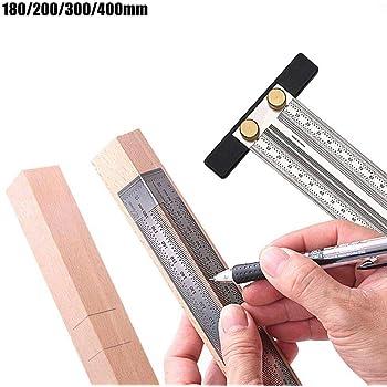 Stainless Steel Multi-Angle Measuring Ruler Woodworking Measuring Ruler V7❧
