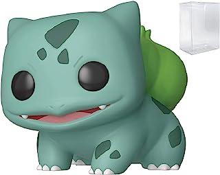 Juegos Funko: Pokemon - Bulbasaur Pop! Figura de vinilo (incluye funda protectora compatible con caja de Pop).