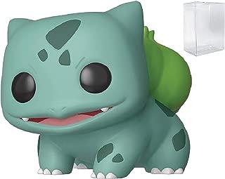 Funko Games: Pokemon - Bulbasaur Pop! Vinyl Figure (Includes Compatible Pop Box Protector Case)