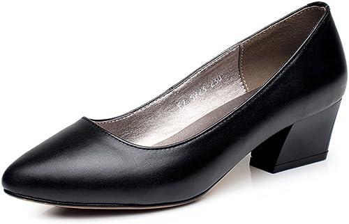 MS Señaló zapatos Profesionales zapatos de Trabajo Profesional Punto Confort zapatos