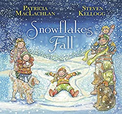 Kids books about snowflakes
