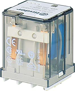 AgNi Contact Finder 56.32.8.120.0030 DPDT 12A Miniature Power Relay 120V AC Coil