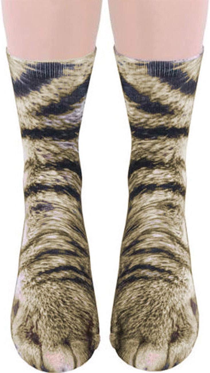 Sematomala Unisex Adult Children Novelty 3D Print Animal Foot Ho