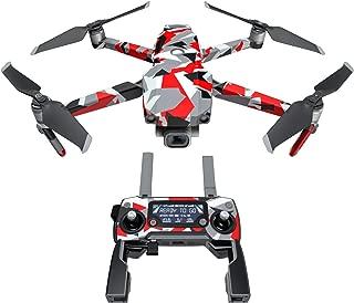 DJI Mavic 贴花套件 - 包括 1 个无人机/电池皮肤 + 控制器皮肤 信号 Mavic 2/Zoom DJIM2-SIGNAL