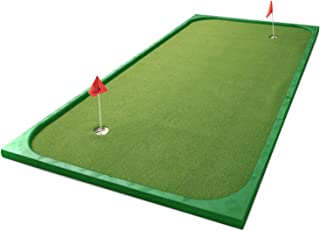 N \ A Putting Green De Golf para Interiores, Tapete De PráCtica De CéSped Artificial De Golf De Empalme Grande, Juego De A...