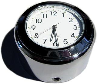 Royal Enfield® glatte Abdeckung für Muttern, Schrauben mit eingebauter Uhr, Motorrad, schwarz