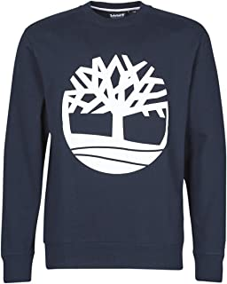 Timberland Men's Sweatshirt with AD Tree Logo in Blue 0A28J