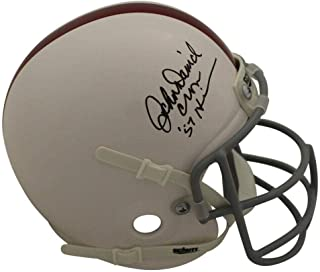 JSA Certified Autographed College Mini Helmets John David Crow Signed Autographed Heisman Mini Helmet
