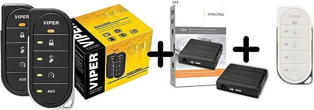 $199 » Viper 4806v w/ DB3 & 87856VW2-Way LED Remote Start System Including Transmitter w/ 1 Mile Range & Bypass Module & White Tr...