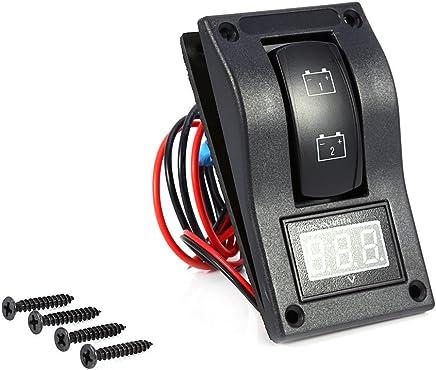HugeAuto 12V-24V DC Car Audio Inline Circuit Breaker Fuse