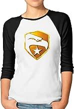 Women's Baseball Shirts Gi Joe Falcon Logo American Hero Baseball Tees