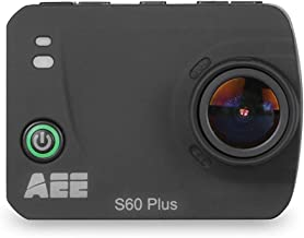 AEE Technology S60 Plus 1080P 60FPS 16MP HD LCD TFT Display Wifi Time Lapse Action Camera with Waterproof Case (Black)