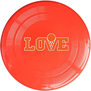 AOLM Kevin Love Basketball Outdoor Game Frisbee Sport Disc Yellow