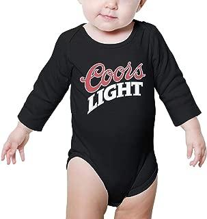 Long Sleeve Newborn Baby boy Clothes Coors-Light-Good-Beer- Novelty Onesie