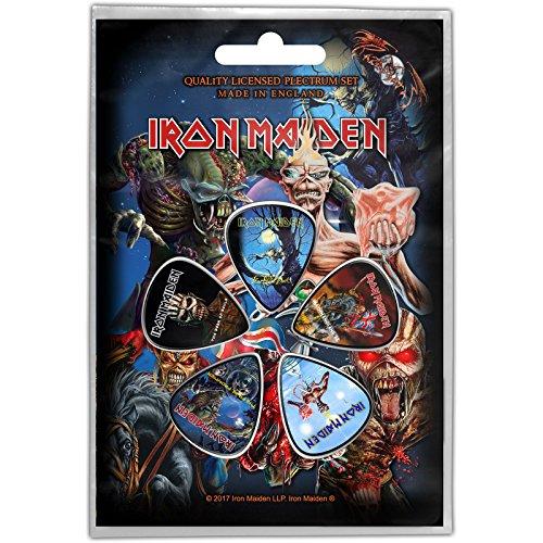 Iron Maiden Later Albums Púas de guitarra oficiales